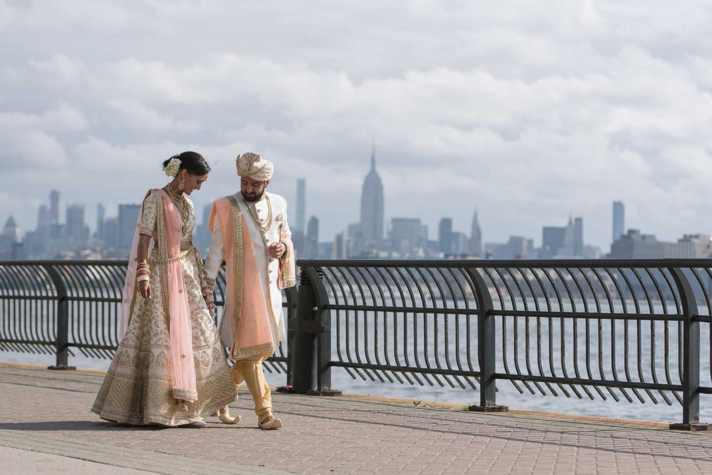 hyatt regency jersey city indian wedding photos