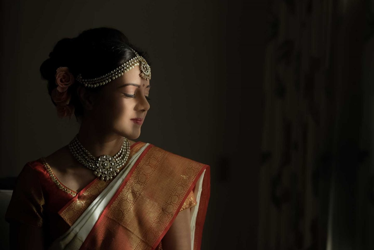 Indian Bride at Rittenhouse Hotel