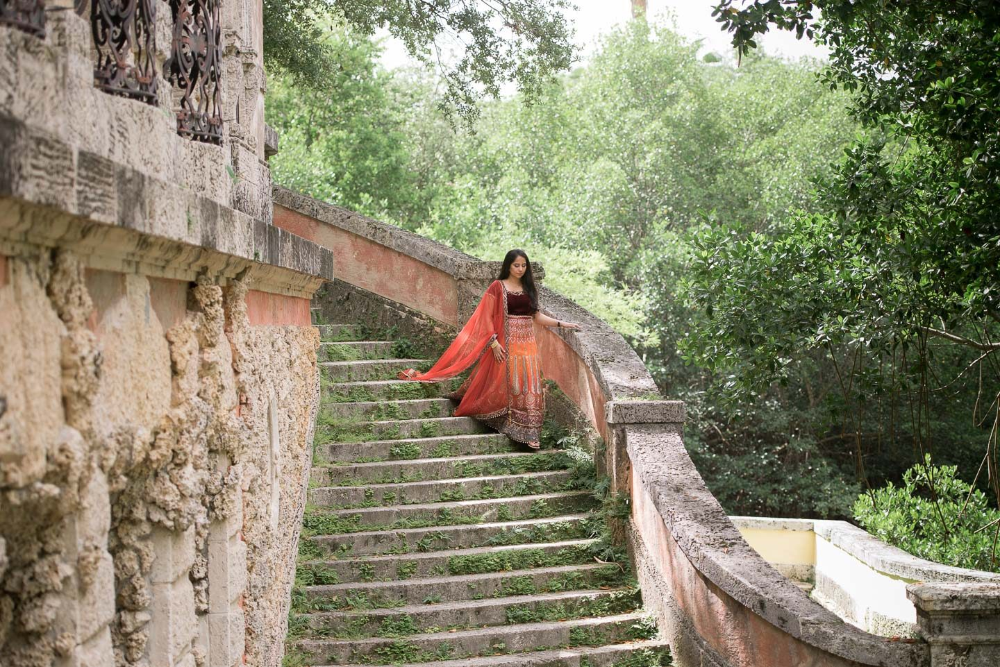 Vizcaya Museum Indian Engagement Photos