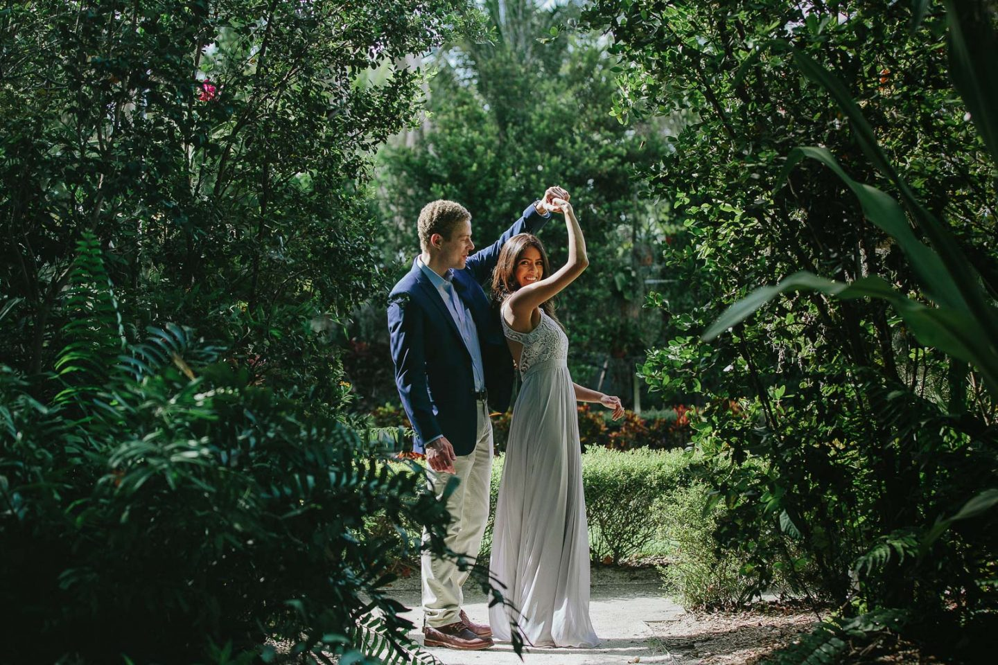 Vizcaya Museum Engagement Session