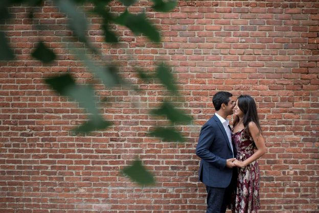 Brooklyn Bridge & Dumbo NYC Engagement Session
