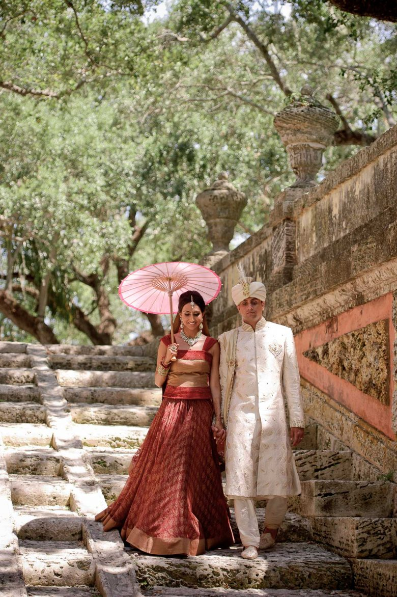 Vizcaya Museum Indian Wedding Photos