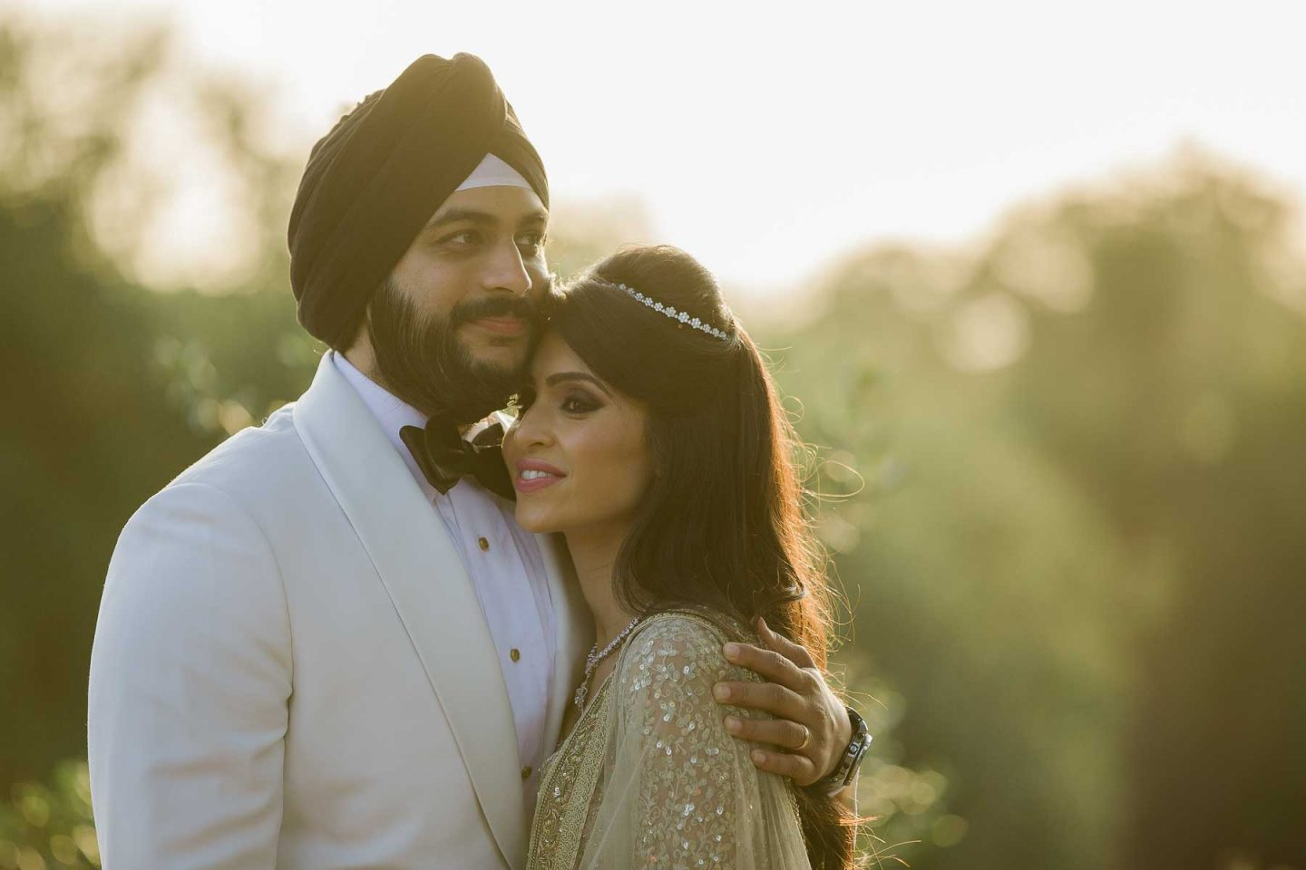 Payal Kadakia and Nick Pujji at Pelican Hill Resort