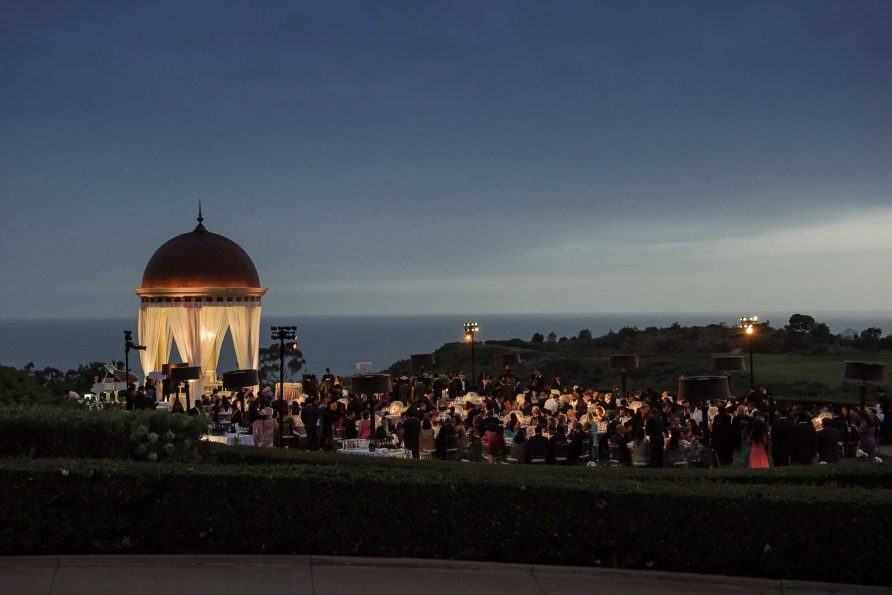 Pelican Hill Resort Indian Wedding Decor