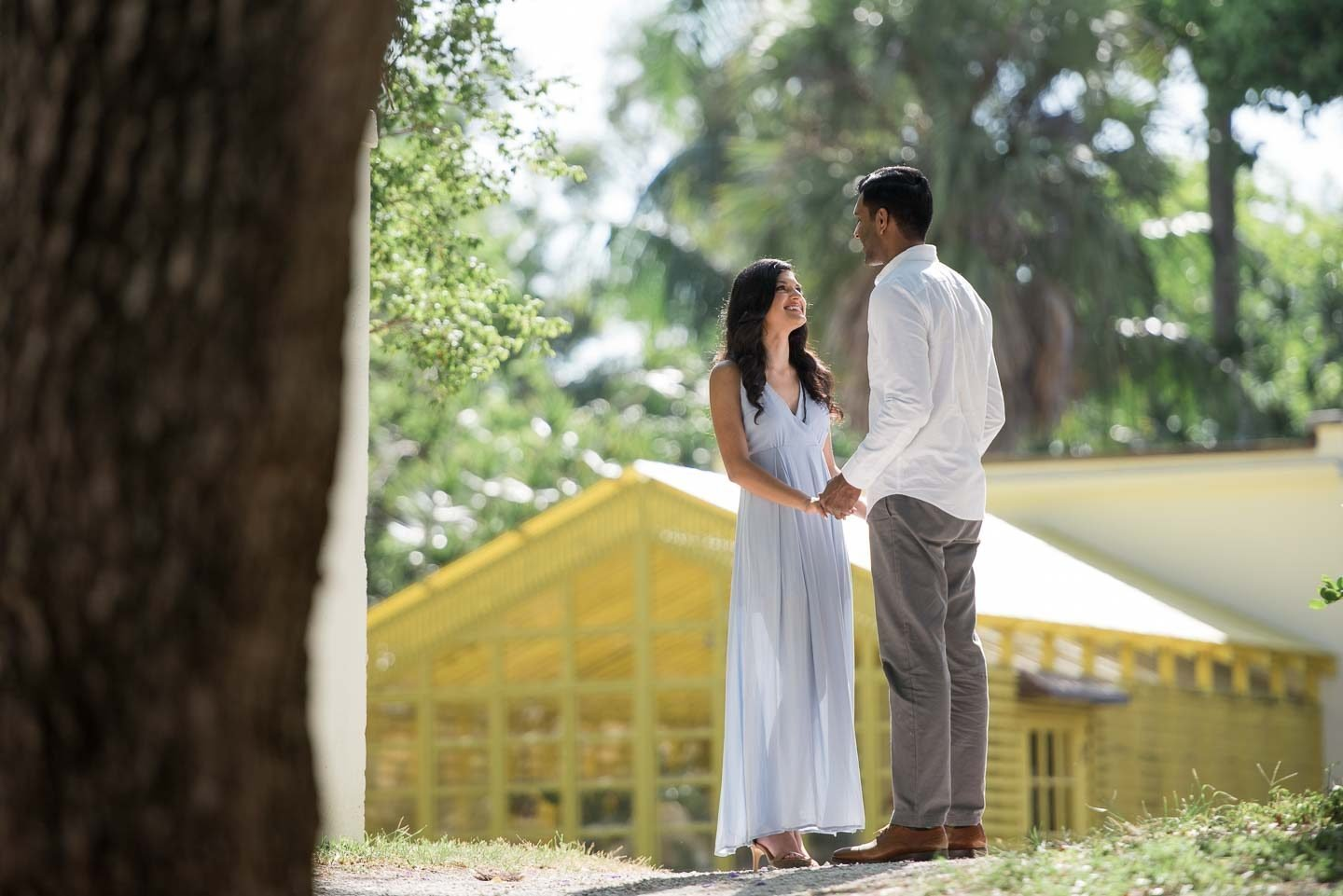 Bonnet House Engagement Photography