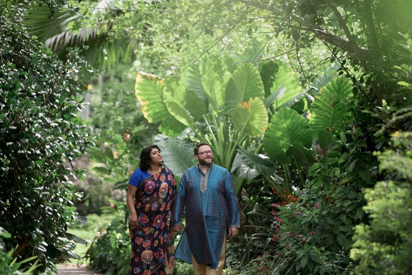 Fairchild Tropical Garden Engagement Session