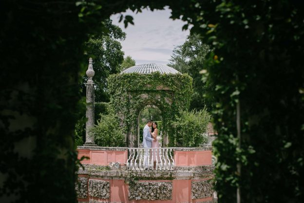 Engagement Session at Vizcaya Museum