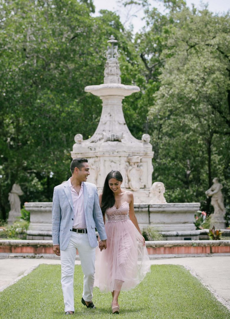 Vizcaya Museum Engagement Photography